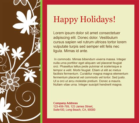 happy holidays email card template email templates cartoline happy i