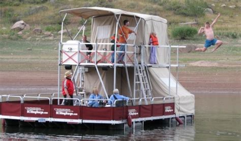 party boat rentals oregon lake billy chinook party barge rollingbarge