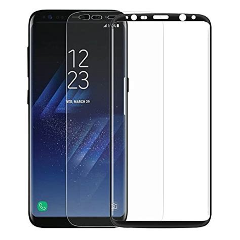 Stickerboy Samsung Galaxy S8 Screen Protector Melengkung Tpu tpfoon galaxy s8 tempered glass screen protector with soft tpu screen protector for samsung