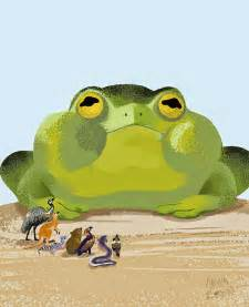 anna bron tiddalik the frog