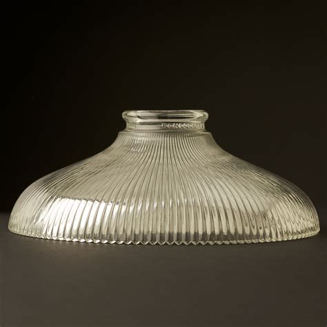 Glass L Shades by Holophane Glass Dish Light Shade