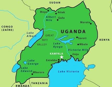 uganda on world map development strategy and investment plan dsip of uganda