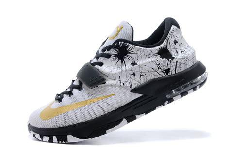 Schuhe Nike Kd 7 Vii Schuhe Weiã Gold Schwarz Bequemes Produkt P 370 kd 7 wei 223