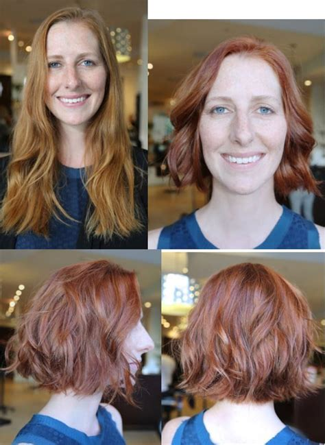 long hair short hair before and after 21 best images about long to short hair before and after