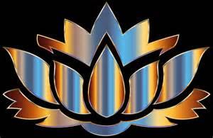 Lotus Flower Silhouette Clipart Chromatic Lotus Flower Silhouette