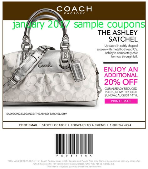 coach outlet printable coupon january 2015 printable coupons 2018 coach coupons