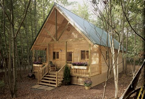 Kit Log Cabins by Mountain King Residential Log Cabin Kit