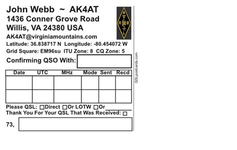 qsl card templates free qsl postcards qsl card printing affordable glossy