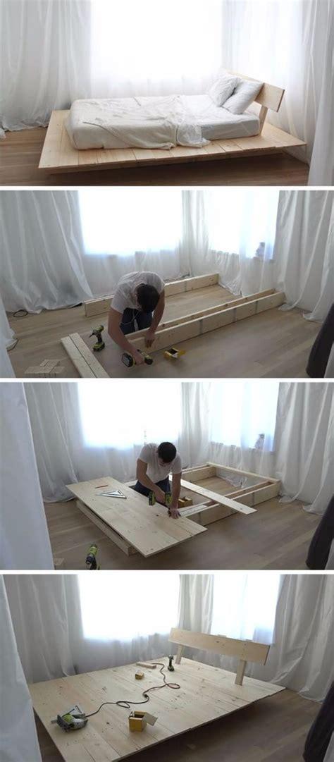 diy platform beds   impressive bedroom