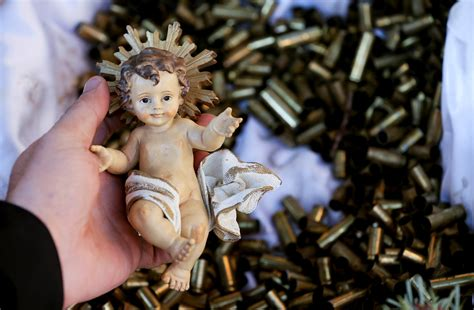 4 Pics 1 Word Telephone Crib Manger by Franciscan Monks Put Baby Jesus On Bed Of Bullets To Press For Peace Sojourners