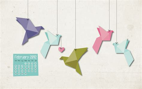 Origami Of Birds - cool green wallpaper 2560x1440 82268