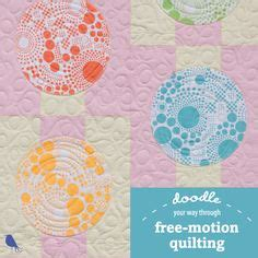 doodle free motion quilting quilt as desired on machine quilting quilting