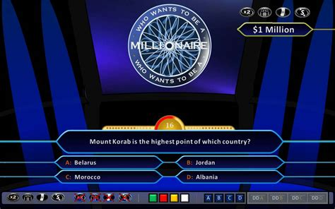 Who Wants To Be A Millionaire Demonstration Hd Ppt 2010 Who Wants To Be A Millionaire Presentation Template