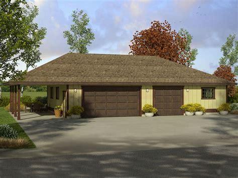 garage carport plans garage plans with carport three car garage plan with