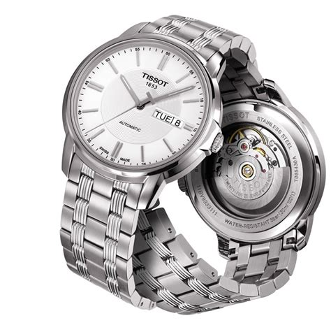 Tissot Simple White Sapphire tissot automatics iii review automatic watches for