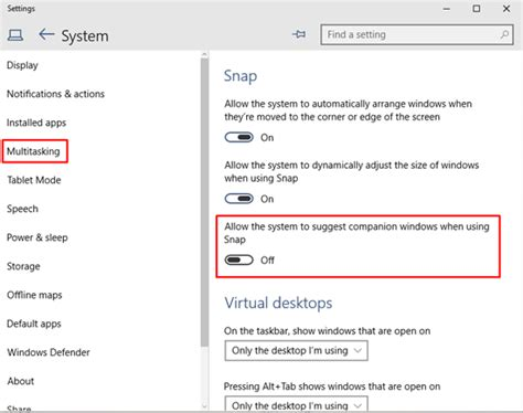 Windows 10 Snap Tutorial | how to disable snap assist feature windows 10 avoiderrors