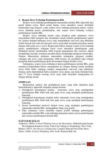 cara membuat jurnal matematika 4 artikel jurnal karunia eka lestari matematika