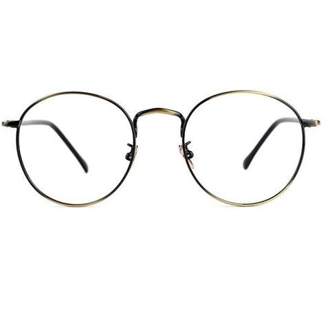 tijn retro metal frame thin optical