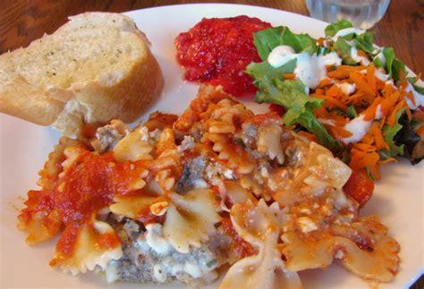 baked ziti with ricotta