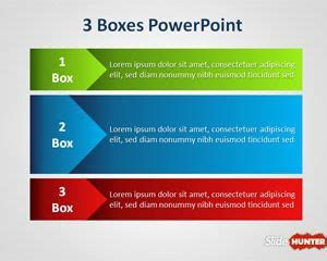 boxes powerpoint template