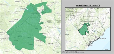 carolina 2nd congressional district map south carolina s 2nd congressional district