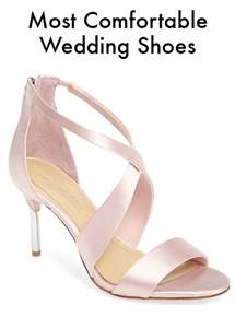 what are the most comfortable heels comfortable wedding shoes bridal accessories instyle