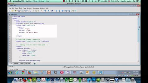 jquery tutorial for ajax jquery ajax call tutorial youtube