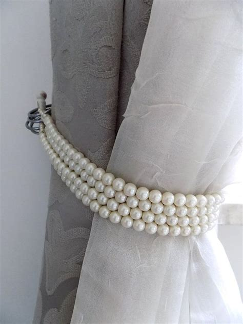pearl curtain tie backs 25 best ideas about curtain ties on pinterest diy
