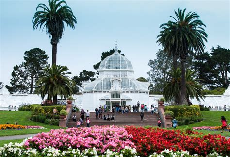 conservatory of conservatory of flowers san francisco california
