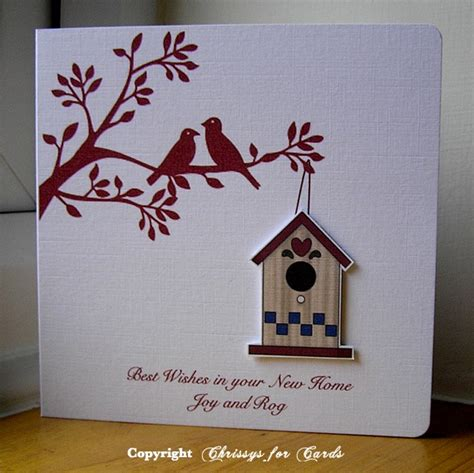 Handmade New Home Card Ideas - 69 best images about card ideas on
