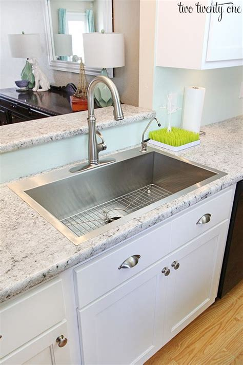 laminate kitchen countertops basin sink stainless steel