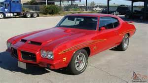 1971 Pontiac Judge 1971 Pontiac Gto Quot The Judge Quot With Phs 455ho Ram Air