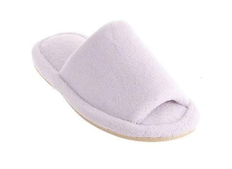 toe slippers peep toe memory foam slippers nature s sleep giveaway