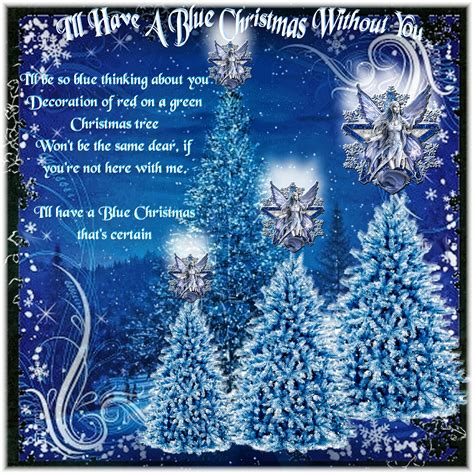 images of christmas without you i ll have a blue christmas without you digital
