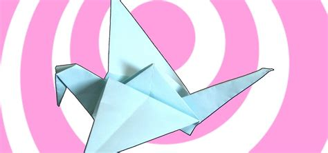 How To Make Origami Flapping Bird - how to make an origami flapping bird 171 origami wonderhowto