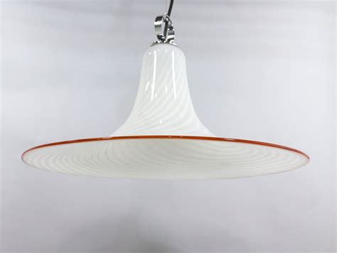 white glass pendant light white glass pendant light 1970s for sale at pamono
