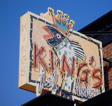 kings fish house king s fish house custom king s fish house sign