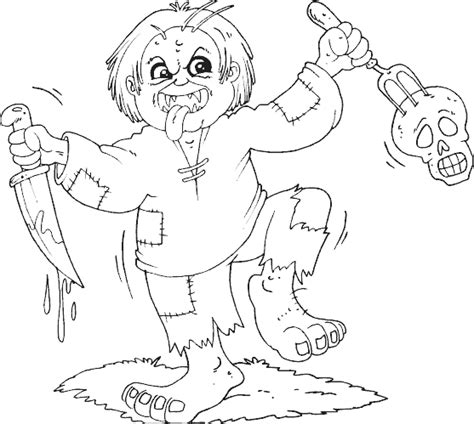 monster coloring page coloring com