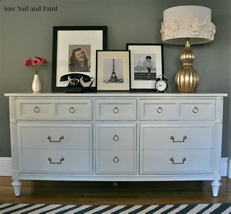 painting a dresser white antique white thomasville dresser saw nail and paint