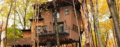interior tree house romantic intimate resort cottage in new england treehouse winvian farm