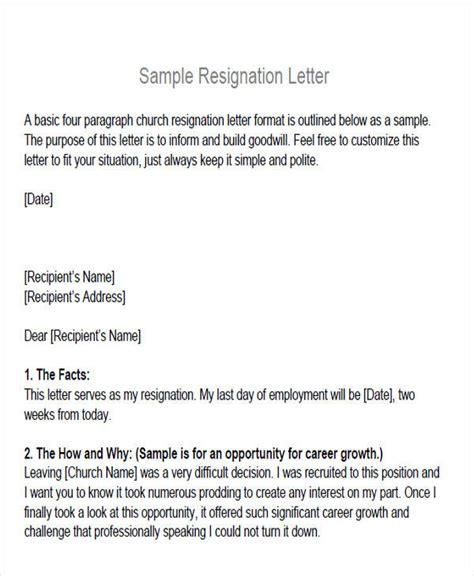 Withdrawal Of Club Membership Letter Sle Membership Resignation Letter 5 Exles In Pdf
