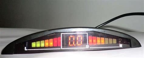 Sensor Mundurparkir Mobil 2 Titik Dengan Led Display Dual Cpu System sensor parkir mobil anti nabrak dengan lcd display harga jual