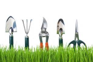 Home And Garden Supplies Suspended For Showing Garden Tools In School