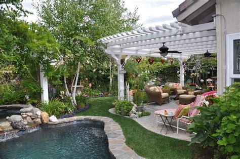 backyard overhang white patio overhang