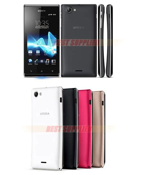 Touchscreen Sony St26 Xperia J Original sony ericsson xperia j st26i st26 cell phone gps wi fi 5mp