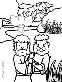 john the baptist coloring pages for preschoolers jesus baptism coloring page 171 crafting the word of god