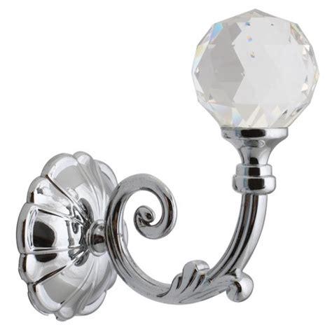 silver curtain holdbacks crystal holdback