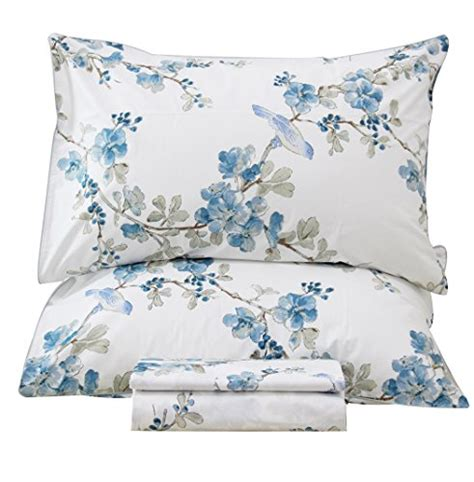 best egyptian cotton bed sheets queen s house egyptian cotton sheets bird printed bed