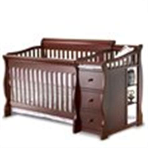 Sorelle Tuscany 4 In 1 Convertible Crib And Changer Combo by Sorelle Tuscany More 4 In 1 Convertible Crib And Changer