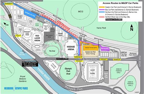 maps margaret court arena